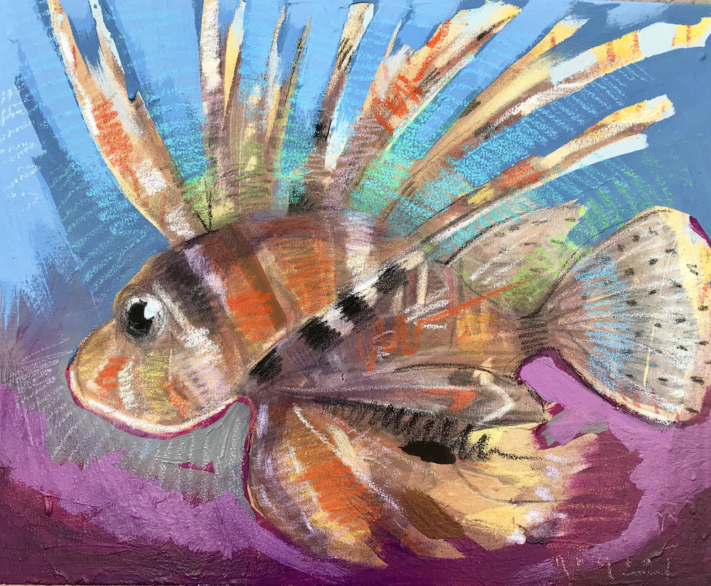 Tim Jaeger, Lionfish no. 7, 2018