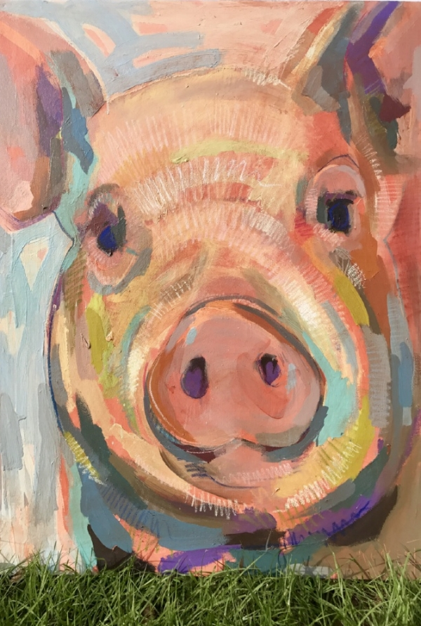 Tim Jaeger, Oink no. 14, 2017