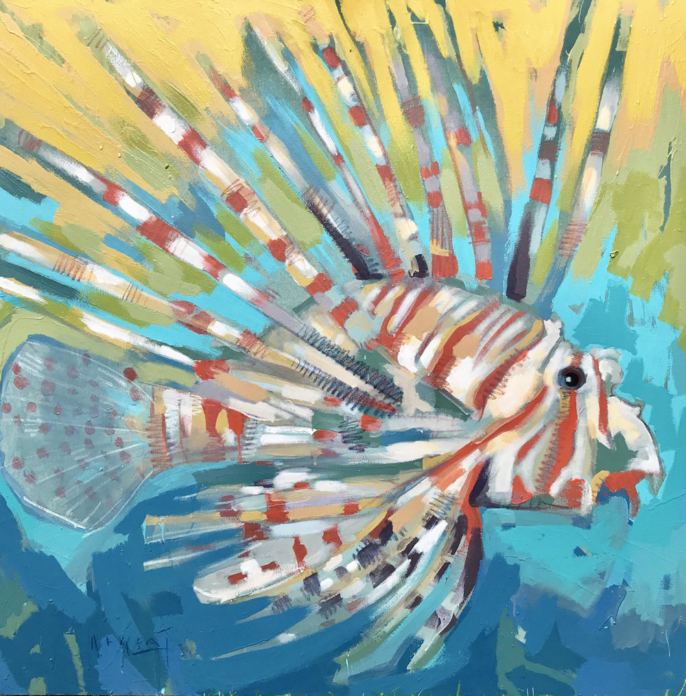 TIM JAEGER, LIONFISH NO. 8, 2018