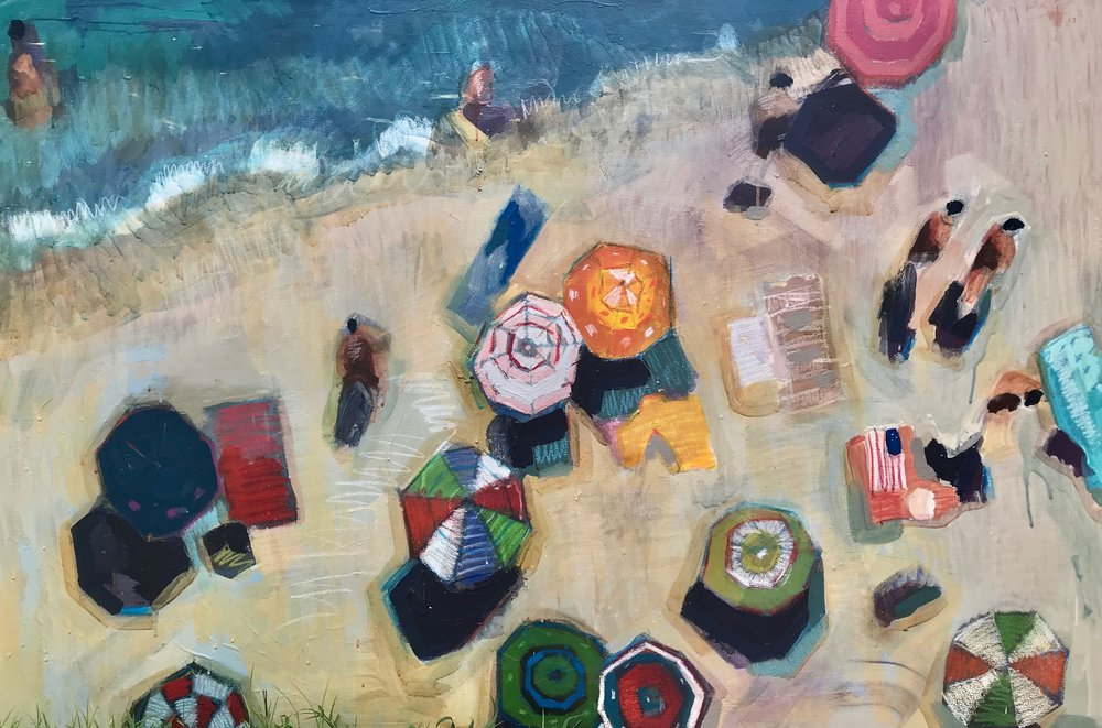 TIM JAEGER, MEMORIAL DAY ON LONGBOAT KEY no. 2, 2018