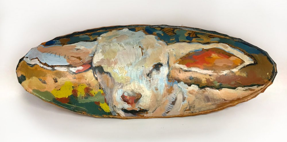 TIM JAEGER, SHEEP BOWL no. 1, 2018