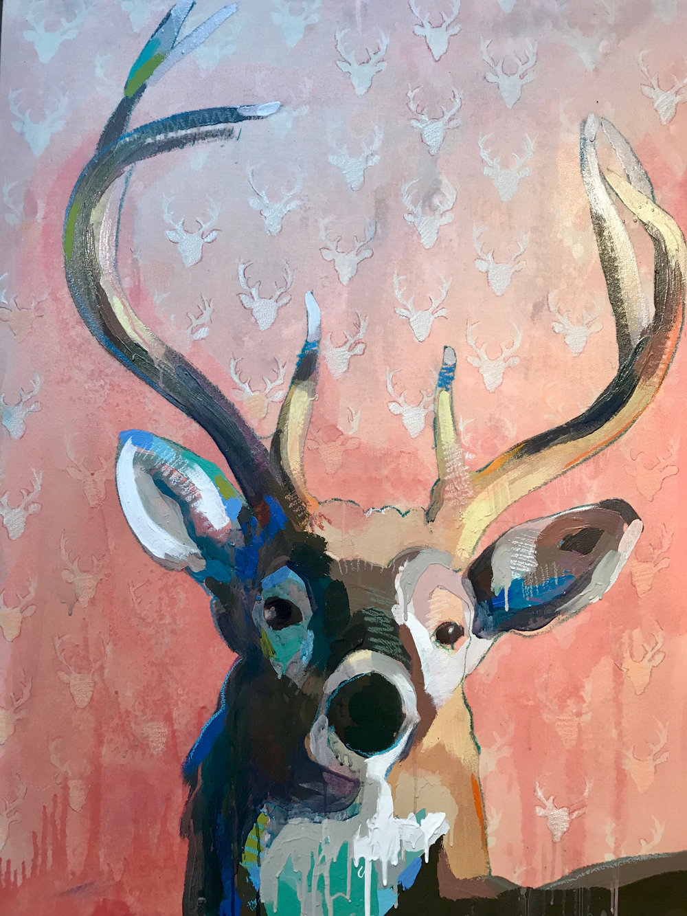 TIM JAEGER, 8-POINT in PINK, 2018
