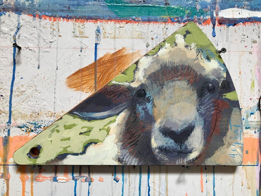 TIM JAEGER, SHEEP CHEESEBOARD