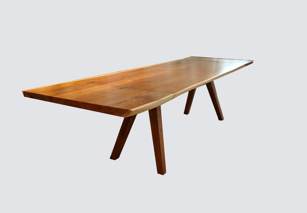 Cherry Live Edge Table