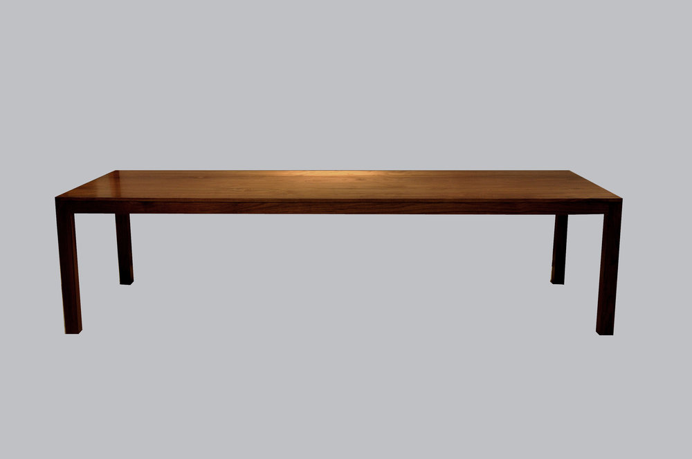 Parsons Walnut Table Base
