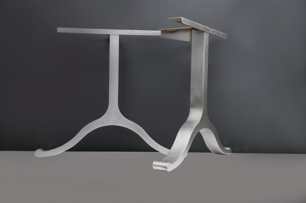 Wide Wishbone Table Base