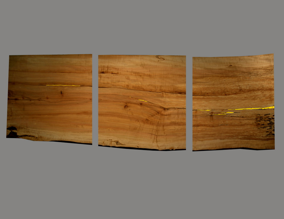 Three Piece Live Edge Top