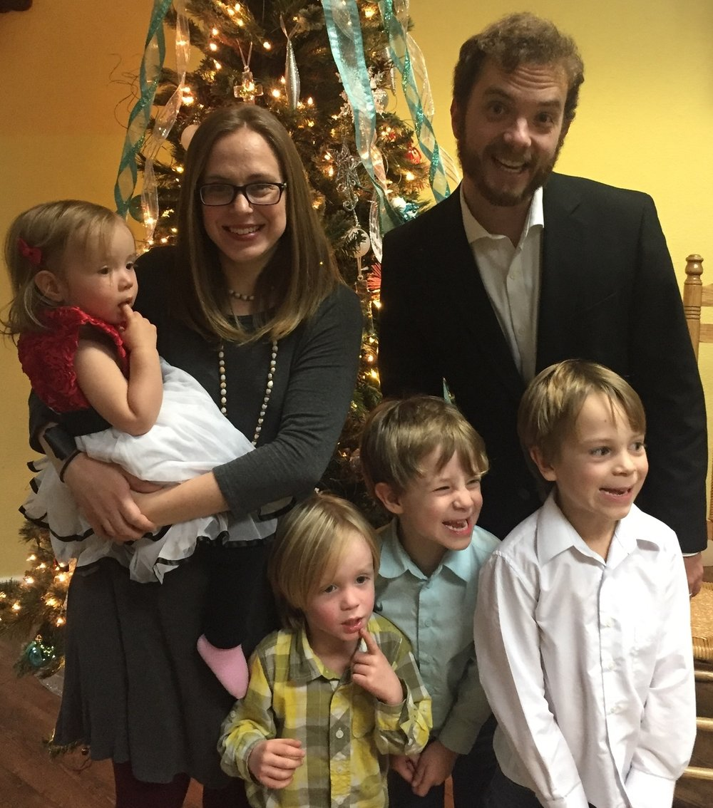 December 2017 My Sweet Family