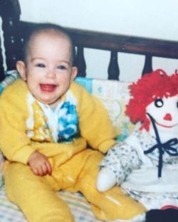 Christina at 7 months