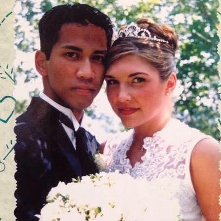 We were married in 1999.