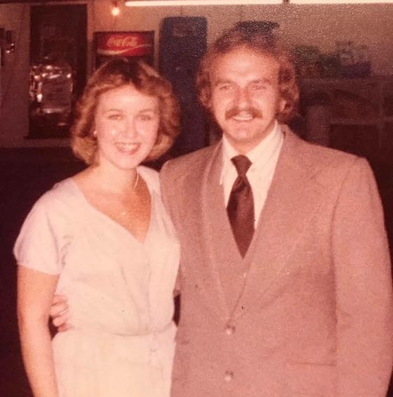 On our wedding day in 1979.