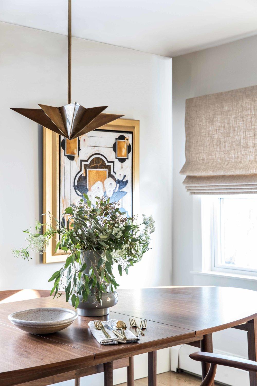 Vaughan Street Portland Maine DIning Table Detail.jpg & Portland Maine Interior Designer u2014 West End u2014 Tyler Karu Design + ...