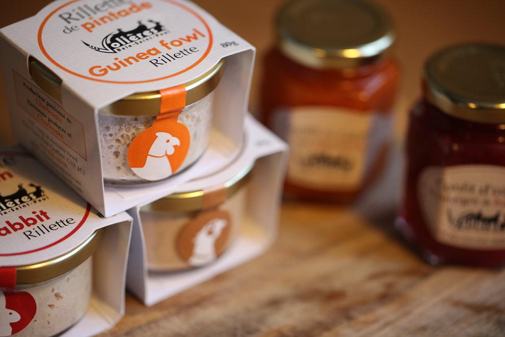 Découvrez nos produits - Prêt-à-manger / pieces completes / terrines et confits