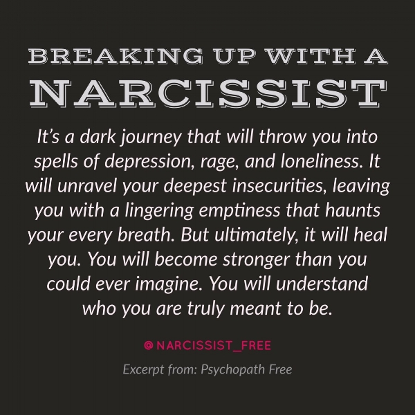 How to break a narcissist