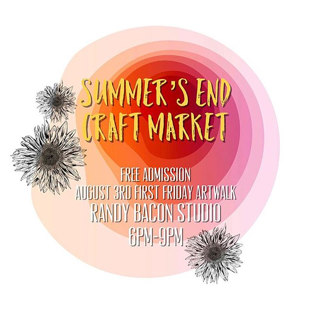 We're participating in two craft markets coming up! We'd love to see you guys there!