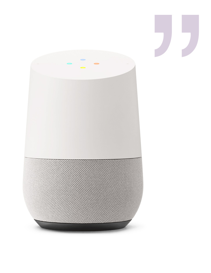 VoiceUse Amazon Alexa or Google Home to reach users who prefer voice interactions. - Cognitive Challenge is an example of a fun game that tests word recall and word associations. This is an example of how voice can be used on a regular basis at home as part of a longitudinal assessment. For Alexa, say