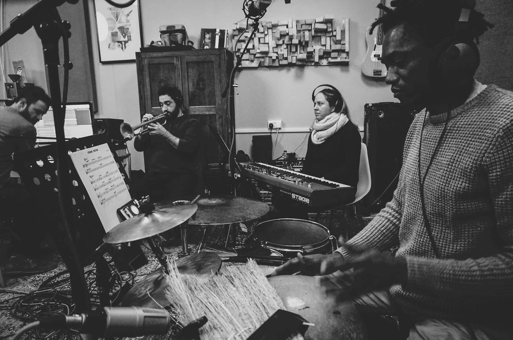 band-in-session-percussion-trumpet-piano-producer-sara-colman-recording-session-jazz-british-canyon.jpg