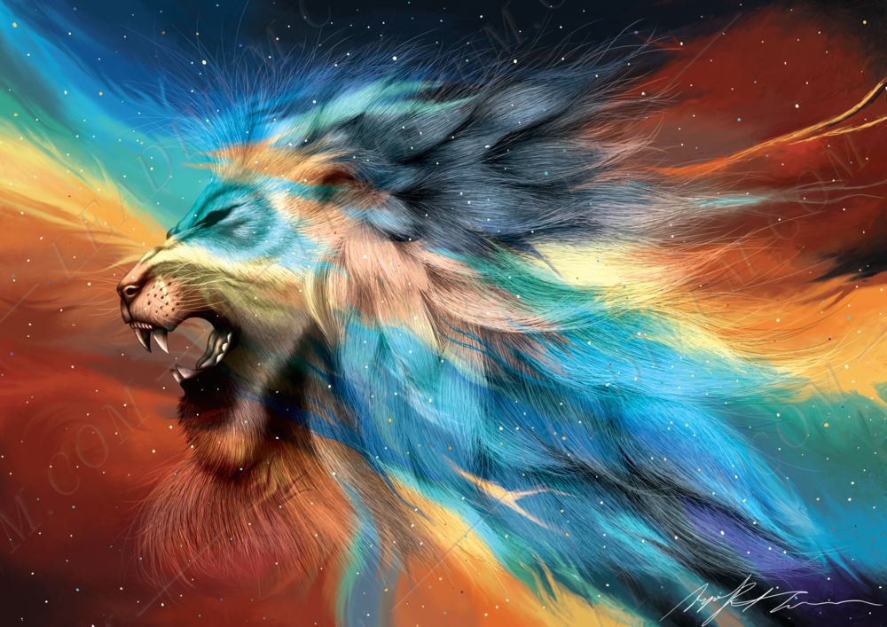 Shiloh - Lion of Judah by Anja Johansen