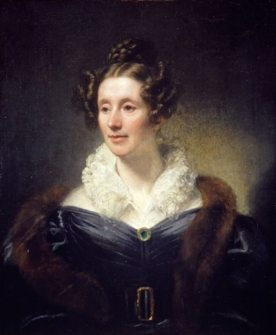 Thomas Phillips's portrait of Mary Somerville from 1834.