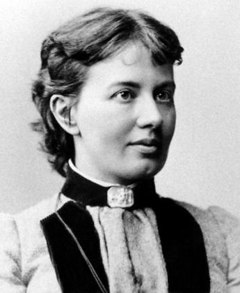 Photograph of Kovalevskaya, 1880.