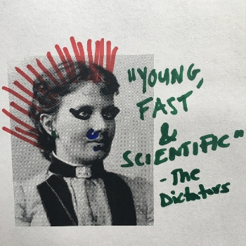 My doctored photo of Kovalevskaya, to better reflect her punk-rock image.