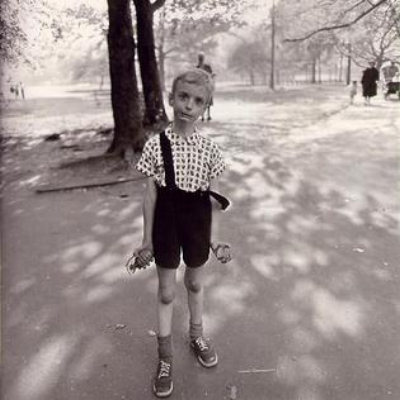 Diane Arbus,  Child with Toy Hand Grenade in Central Park, N.Y.C. ( 1962)