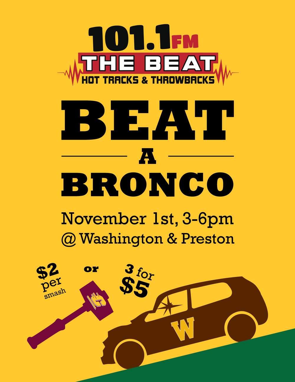 Beat a Bronco Flyer