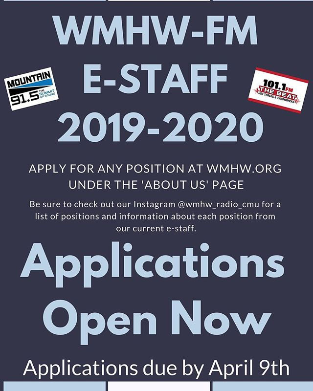 Applications for Executive Staff are now open! Here are our production director, Abi Cox, and both of our music directors, JJ Pung and Carrie Brewer, to explain their positions