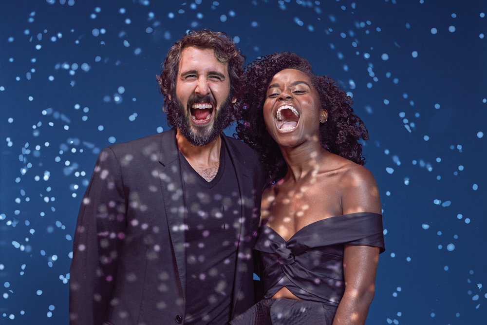 Josh Groban and Denee Benton photographed by James Weber for TImeOut New York