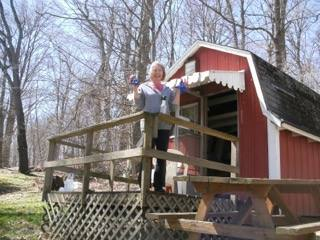Cabin (Sleeps family of 5) - Rates:$66/Night$396/Week