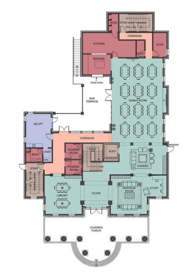 Floorplans — Nu Delta House Building Fund