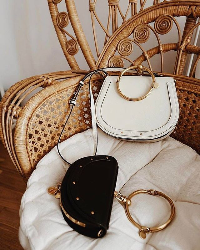 Chloe Nile Minaudiere + Small Leather Bracelet Bag - contact me for any personal shopping request