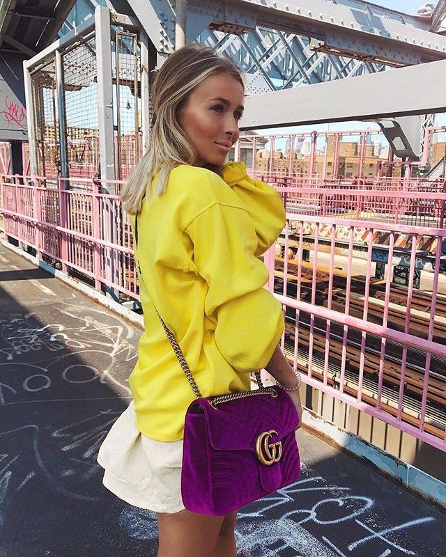Gucci Marmont Velvet Shoulder Bag
