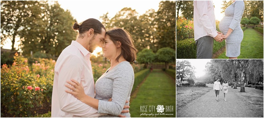 Portland Peninsula Park Maternity and Newborn Photographer_2
