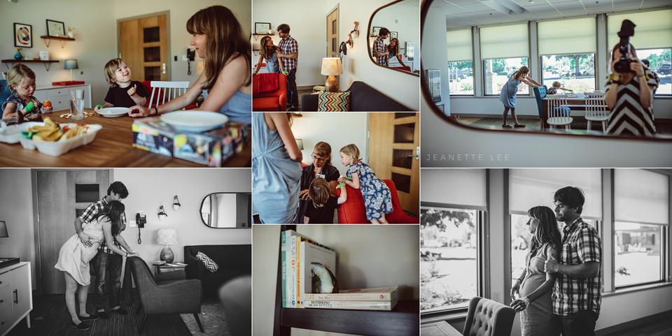 Midwifery birth center Portland Oregon Womens Healthcare Associates laboring mama
