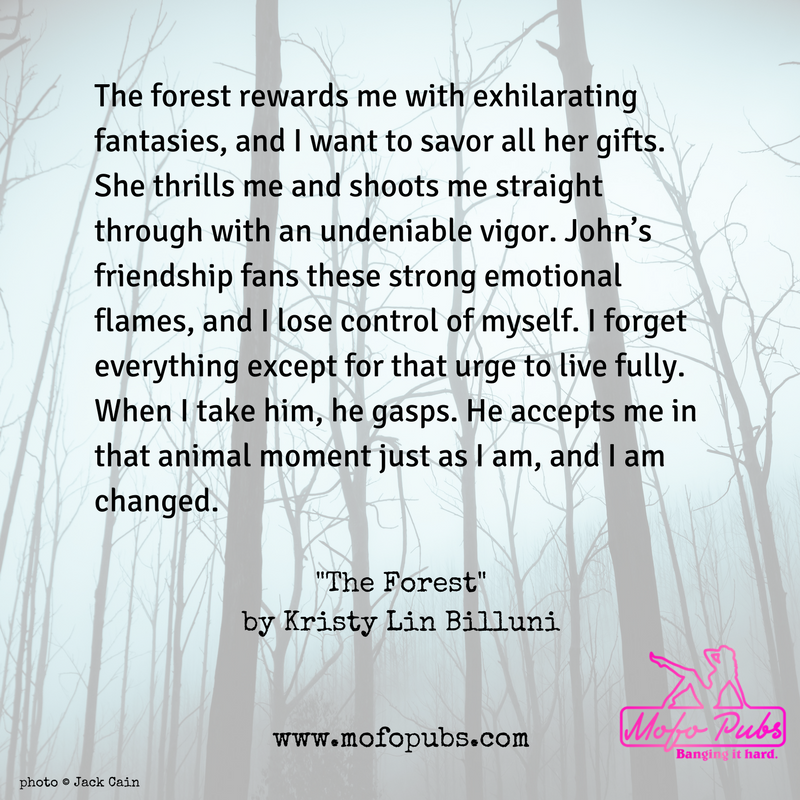 """""""The Forest"""" in Haunted, a literary erotica anthology"""