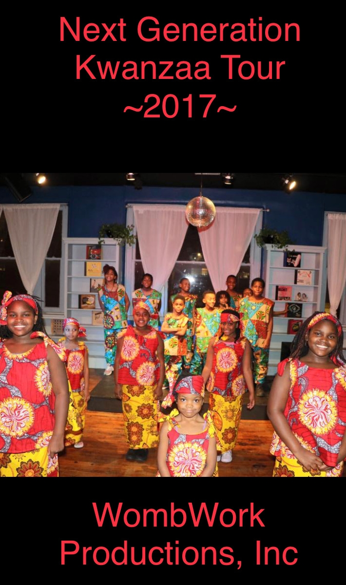 Members of Next Generation Art Ensemble at the Eubie Blake Jazz & Cultural Arts Center Kwanzaa Celebration: UJIMA, Collective Work & Responsibility.