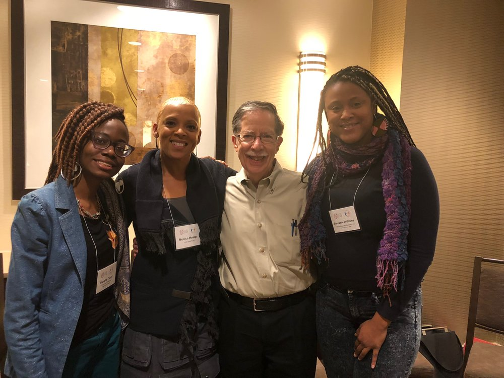 Sherella Cupid (UMBC), Facilitators: Monica Haslip, Founder/Executive Director,  Little Black Pearl  & Mike Wenger, Sr. Fellow AAC&U; Sr. Consultant on Race Relations, W.K. Kellogg Foundation, Stevanie Williams (WWP)
