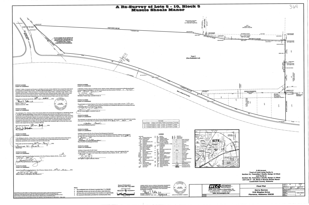 Plat-Muscle Shoals Manor Resurvey of Lots 5-10, Block 5-1.png