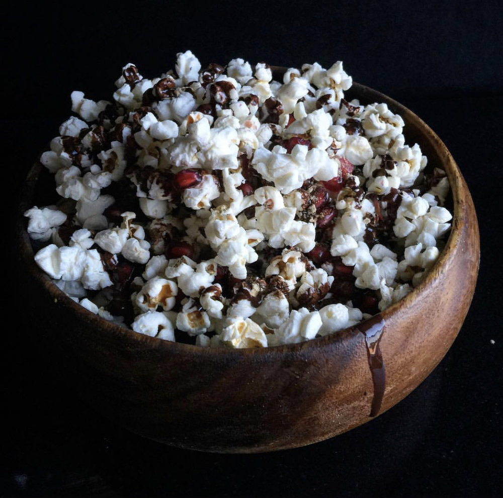 11 Chocolate Covered Popcorn with CBD Cinnamon - Drizzle melted chocolate over some popcorn and toss some CBD Cinnamon and Honey over that bad boy. You'll get lost in the symphony of crunch.