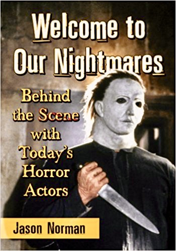 This book of profiles actors who have terrified moviegoers,including Chris' work in  The Silence Of The Lambs .