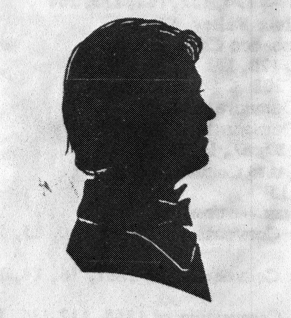 (Drawing of Joshua Davis c. mid- 1800's- Image Courtesy of the  State Archive of Florida )