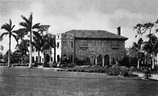 [Howey Mansion c. 1920's- courtesy of the  Florida Memory Project ]