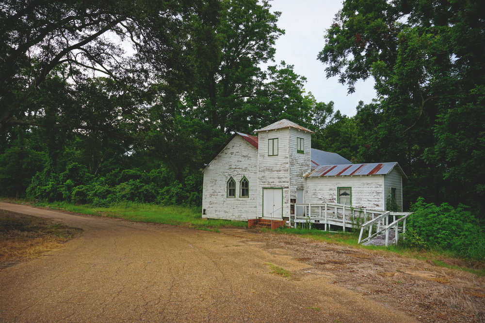 abandoned louisiana church