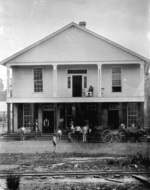 The Drew Sawmill c. Courtesy of the  Florida Memory Project.