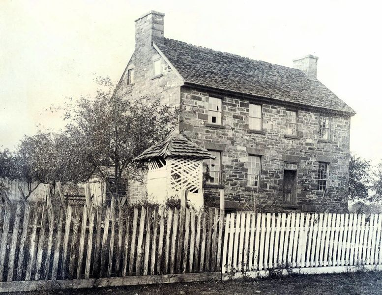 The Old Stone House in 1890- Courtesy of the National Park Service