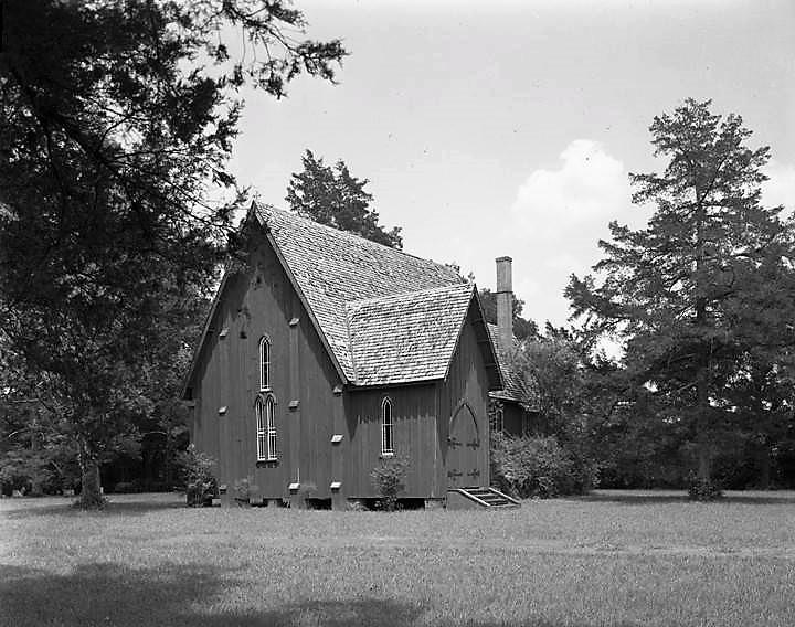 St. Andrews Episcopal Church c. 1962- Photo from John E. Scott