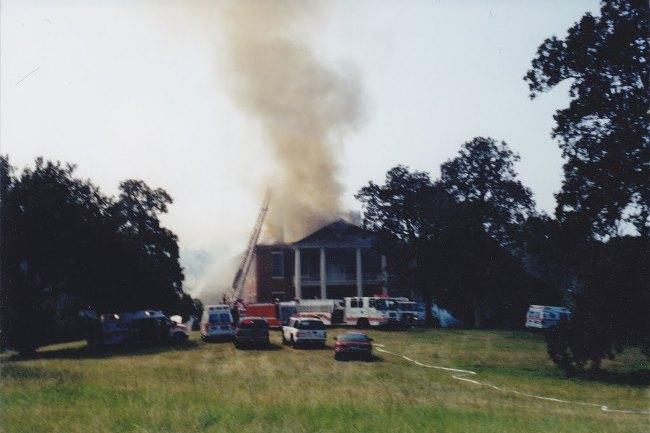 September 2002- Arlington on fire