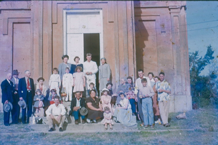 Photo c. 1950s- courtesy of  The First Presbyterian Church of Port Gibson
