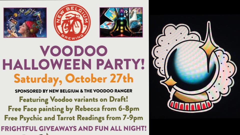 Voodoo Ranger Halloween Madness Weekend — Rebecca's Attic